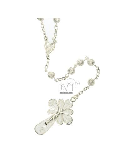 Collar del rosario de 6 mm...