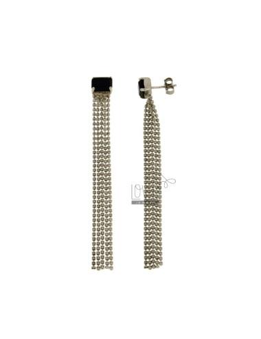 Earrings 5 WIRES MM 80x8...