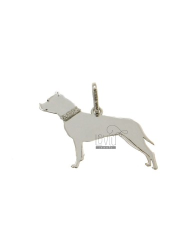 PENDANT DOG STAFFORDSHIRE...