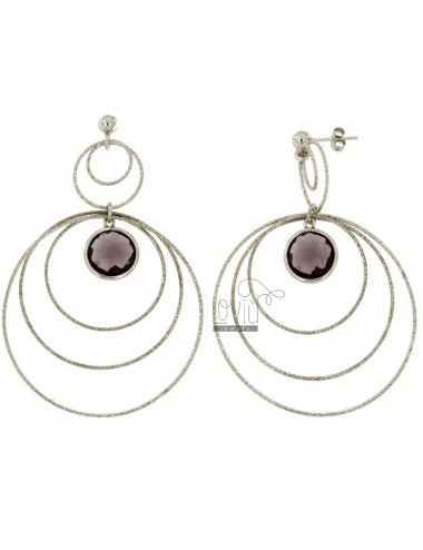 CONCENTRIC CIRCLES EARRINGS...