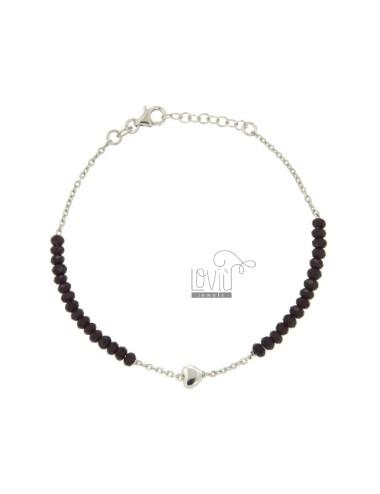 Bracelet cable cm 19.21,...