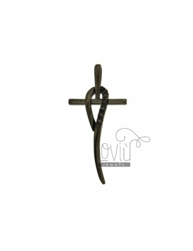 STYLISED 45x22 MM CROSS...