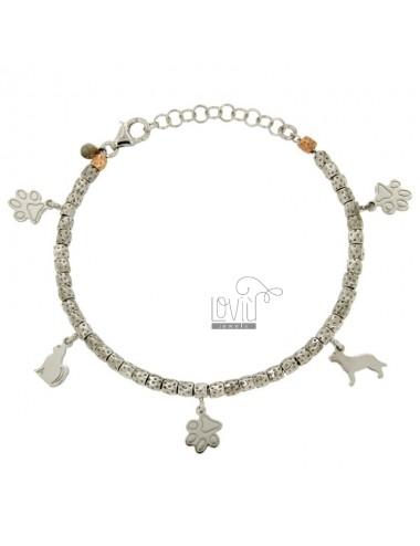 Nuggets bracelet 3.5 mm...