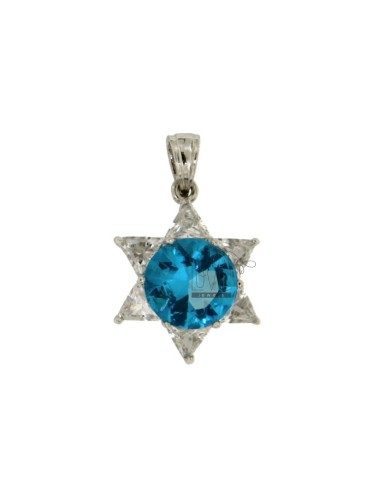 PENDANT WITH STONE STAR...