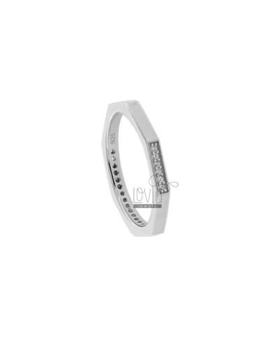 Tit 925 ‰ silver bolt ring...