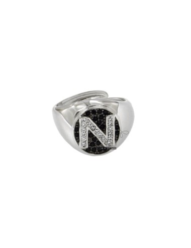 OVAL RING 13x11 MM WITH...