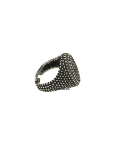 Oval ring 17x11 mm with...