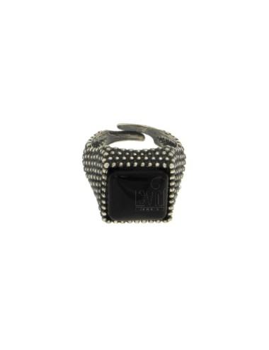 13x13 mm cuadrados anillo...