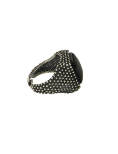 13x13 mm square ring with...