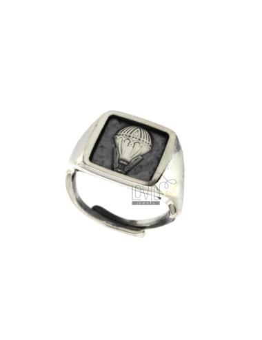15x15 mm cuadrados anillo...