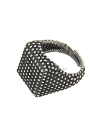 17x17 mm cuadrados anillo...