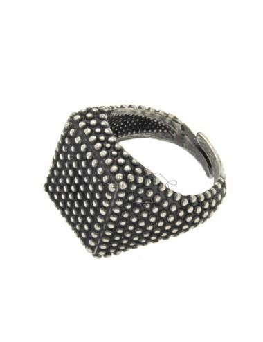 17x17 mm square ring mit...