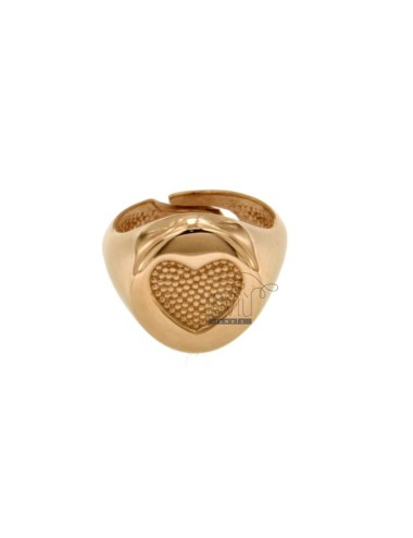 Ring 13 mm ring with heated...