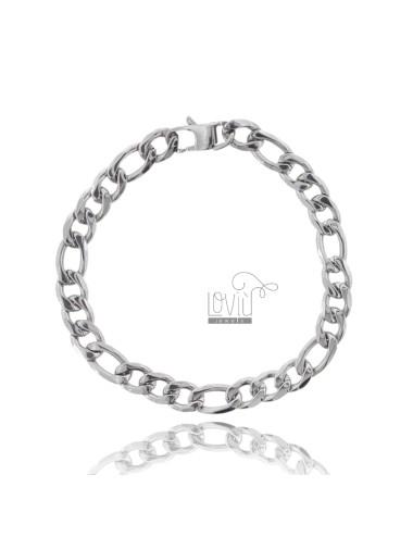 BRACELET STEEL MESH 3 1 8 MM 21 CM