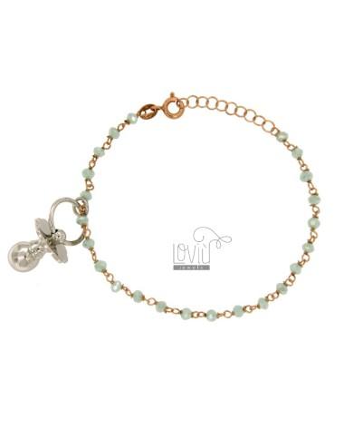 Bracelet silver rose gold...