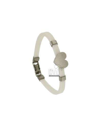 Bracelet in stainless steel...