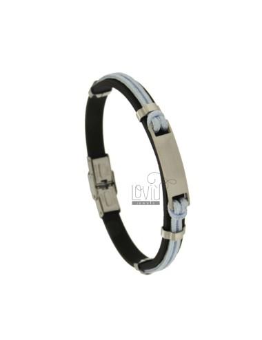 Armband Gummi '8 MM Seil-...