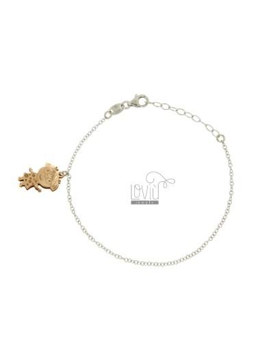 Rolo bracelet 'wire mit...