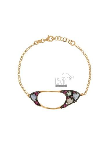 Rolo bracelet 'cm 18 with...