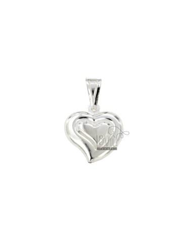 Heart charm acoplado...