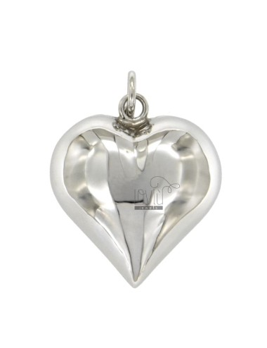 Pendant ANGELS TALK TO HEART MM 32x30 SILVER RHODIUM TIT 925 ‰