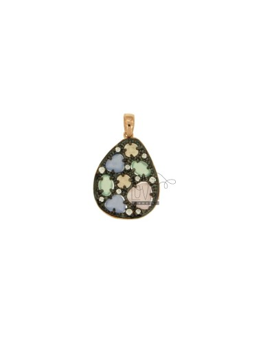 PENDANT WITH STONES AND...