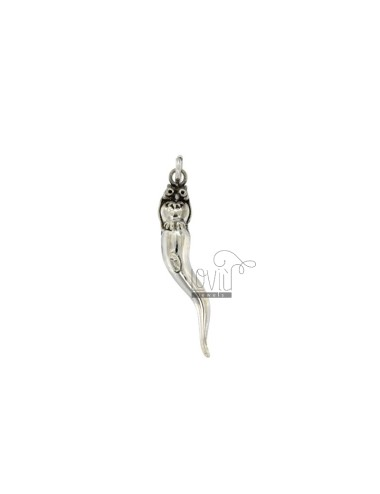 HORN PENDANT 50x8 MM WITH...