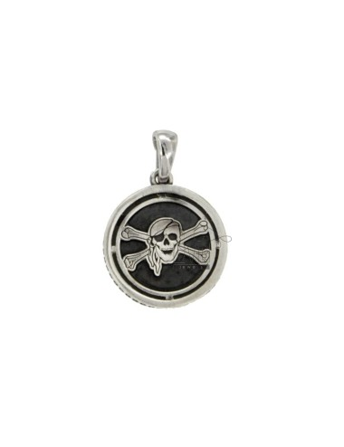 Charm round 17 mm with...
