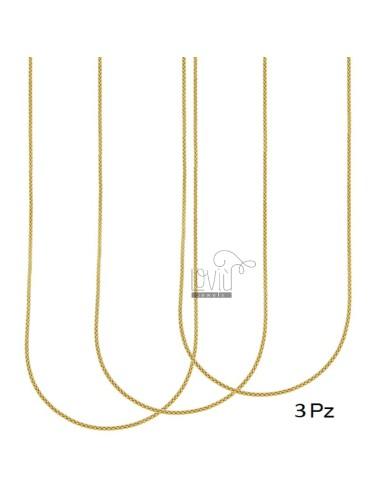 Necklace pz 3 pop corn 1.8...