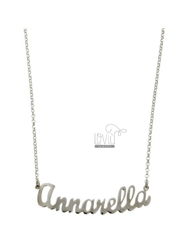 ROLO NECKLACE &39CM 45 WITH...