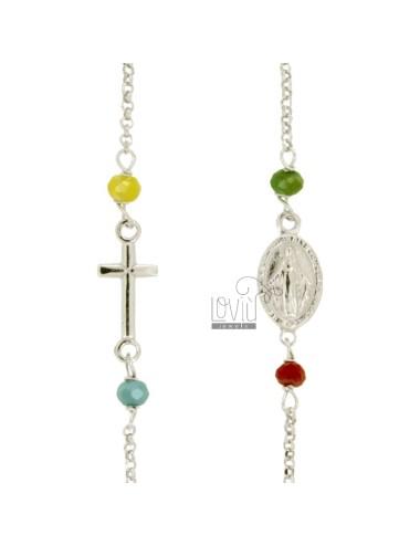 Collar del rosario con un...