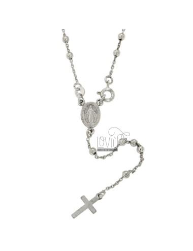 Collar de cable rosario con...