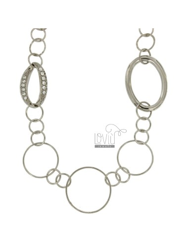 LACE ROUND CHAIN 84 CM IN...