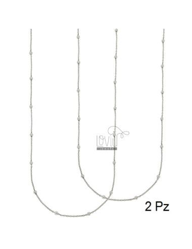 Cordón pz 2 cadena y bola...