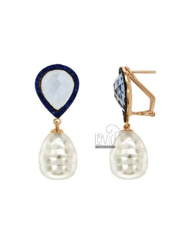 Pendientes de perlas...