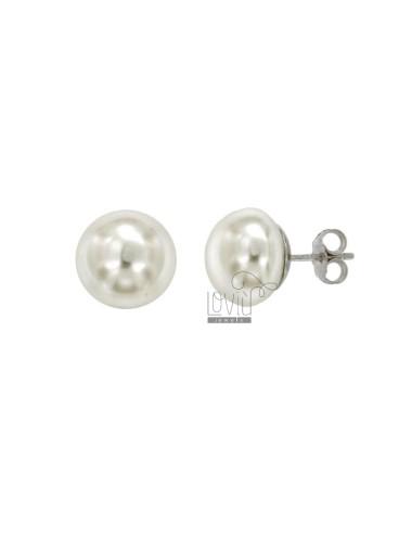 Earrings pz 3 crushed pearl...