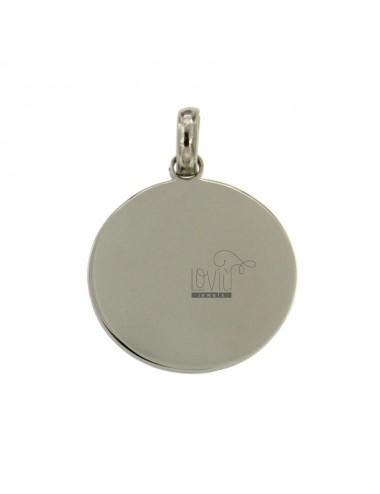 Placa redonda 24 mm steel