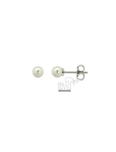 Pz 3 earrings pearl a lobo...