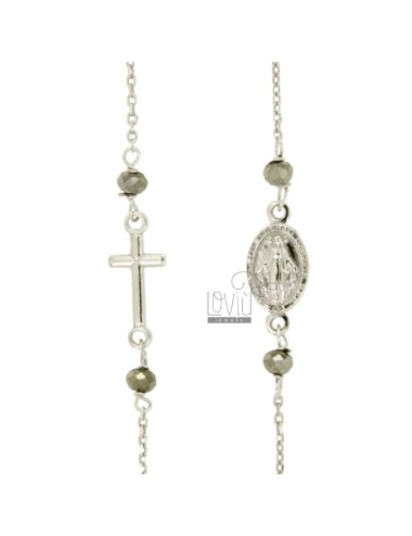 Collar del rosario con...