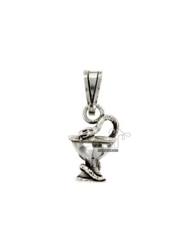 CHARM CUP 19x12 MM SNAKE IN...