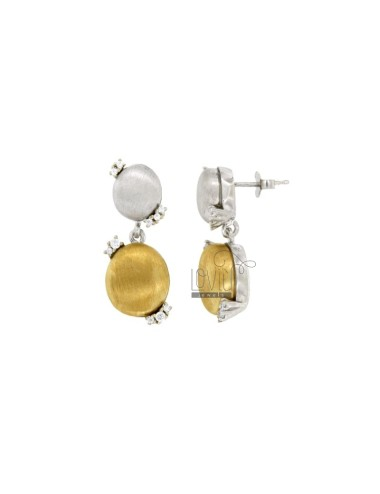 EARRINGS STONE DOUBLE...