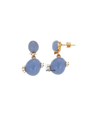 EARRINGS WITH TWO STEAMING...