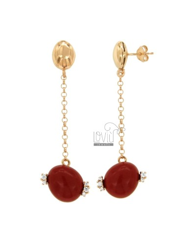 PENDENT EARRINGS WITH ROLE...