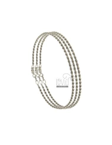 Bracelet male mm 1.6 cm 18...