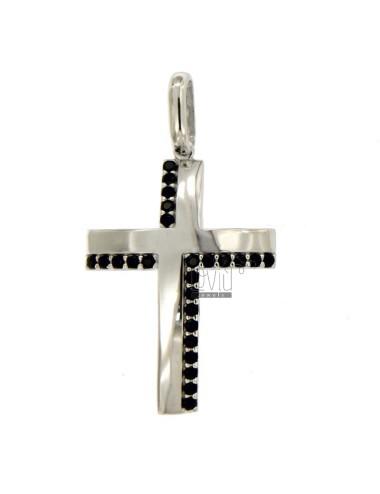 Picon cross mm 30x20 silver...