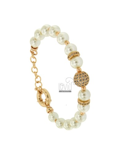 White pencil wheel bracelet...