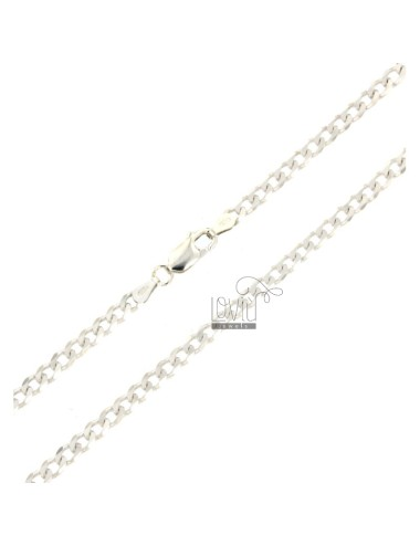CURTAIN CHAIN 3,5 MM 50 IN SILVER 925 ‰