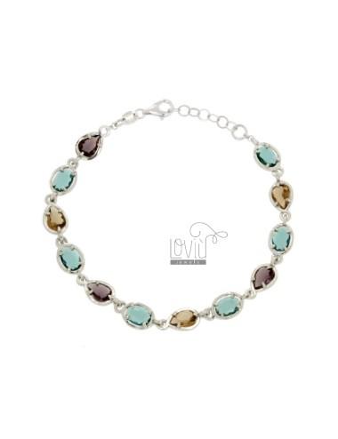 Bracelet with oval...