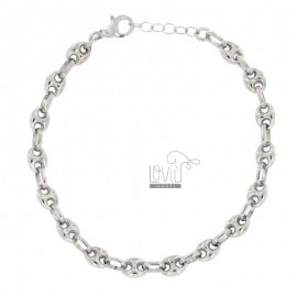 BRACELET MARINE MM 8X6 SILVER REDUCED TIT 925 CM 20-22