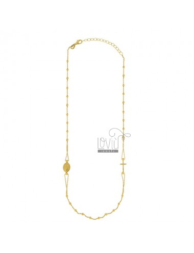 ROSARY CABLE HALSKETTE MIT...